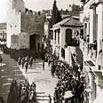 E. General Allenby enters Jerusalem