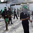 Hamas men in Gaza Photo: AFP