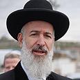 Rabbi Metzger refuses to endorse ruling Photo: Mati Elmaliach