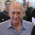 Former PM Olmert Photo: Guy Assayag
