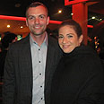 Laizy Shapira and 'Srugim' actress Yael Sharoni Photo: Keren Natanzon