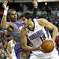 Casspi in action Photo: AP