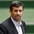 Iran&#39;s Ahmadinejad. Not giving up Photo: AP