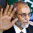 Head of the Muslim Brotherhood Dr. Muhammad Badei Photo: AP