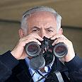 Netanyahu. 'Occupying workplaces' Photo: Ariel Jerozolimski
