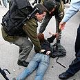 Police arrest protestors last week Photo: AFP