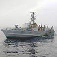 Israeli navy battleship Photo: Danny Solomon