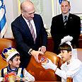 Prime Minister Ehud Olmert Photo: GPO
