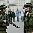 Soldiers in Nablus (Archive photo) Photo: Reuters