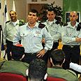 Chief of Staff Gabi Ashkenazy at the induction center Photo: Niv Kalderon