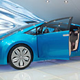A Toyota hybrid model Photo: Roee Zuckerman