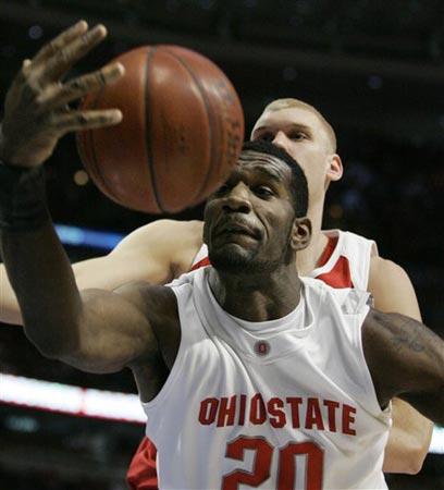 אודן בתקופתו במכללת אוהיו סטייט. העתיד היה אמור להיות מבטיח (צילום: איי פי)