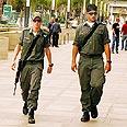 Border Guard officers (illustration) Photo: Niv Calderon