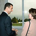 'She understands the region.' Pelosi with Assad in Damascus Photo: Reuters