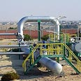 Israel-Egypt natural gas pipeline (archives)