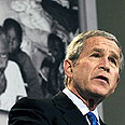 'We also saw quiet acts of courage.' Bush speaks at Holocaust museum Photo: AFP