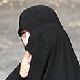 Iranian woman in hijab Photo: AP