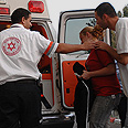 Injured evacuated in Sderot (archives) Photo: Amir Cohen
