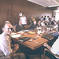 'We can't afford it.' Cabinet meeting (archives) Photo: David Rubinger