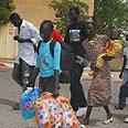 African refugees in Beersheba (Archive) Photo: Herzl Yosef