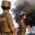 City under fire Photo: AP