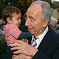 Vice Premier Shimon Peres Photo: Dudi Vaaknin