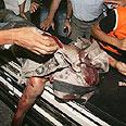 IDF attack in Gaza Photo: AP