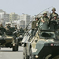 Lebanese troops near Tripoli Photo: Reuters