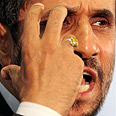 Iranian President Mahmoud Ahmadinejad. Keeping quiet Photo: AP