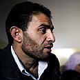 Bassam, father of Abir Aramin Photo: AP
