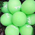 The 'suspicious' balloons Photo: AP