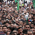 Mass rally against works in Nazareth Photo: Hagai Aharon