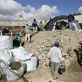 Temple Mount dig (archives) Photo: AP