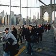 The Broken Bridge Photo: Reuters