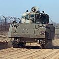 IDF patrolling Israel-Egypt border Photo: Tsafrir Abayov