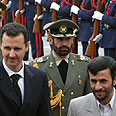 Iranian, Syrian leaders. Continue to rearm Photo: Reuters