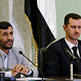 Assad (R) and Ahmadinejad. End of wonderful friendship? Photo: Reuters