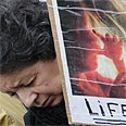 Calling out against abortions Photo: Reuters