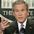 Bush. Hamas must choose Photo: Reuters
