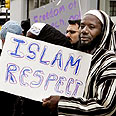 US protest against Mohammed cartoons (Archive) Photo: AP