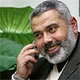 Designated Palestinian prime minister Ismail Haniyeh Photo: Reuters