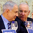 Bibi and Rivlin Photo: Ahiya Raved