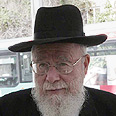 Rabbi Dov Lior Photo: Haim Zach