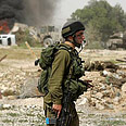 IDF soldier in Jericho - army faces less constraints Photo: Reuters