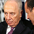 Peres. Harshly criticized Photo: Hagai Aharon