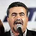 Peretz - strong showing Photo: AFP
