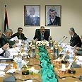 Hamas government session Photo: AP