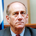 Israel's new Prime Minister Olmert Photo: Flash 90