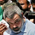 Palestinian PM Haniyeh. Reason to sweat Photo: Reuters