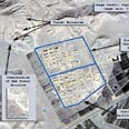 Iran expanding uranium conversion facilities. Satellite images Photo: Reuters/DigitalGlobe